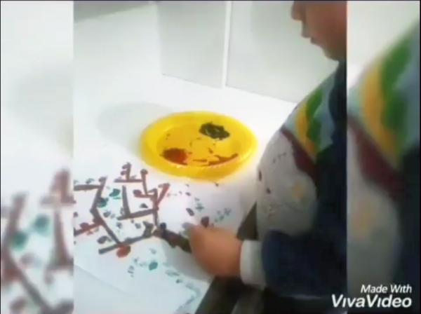 Montessori Etkinlikleri - El göz Koordinasyonu