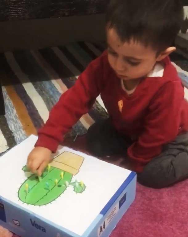 Montessori Etkinlikleri İnce Motor Gelişim Etkinliği