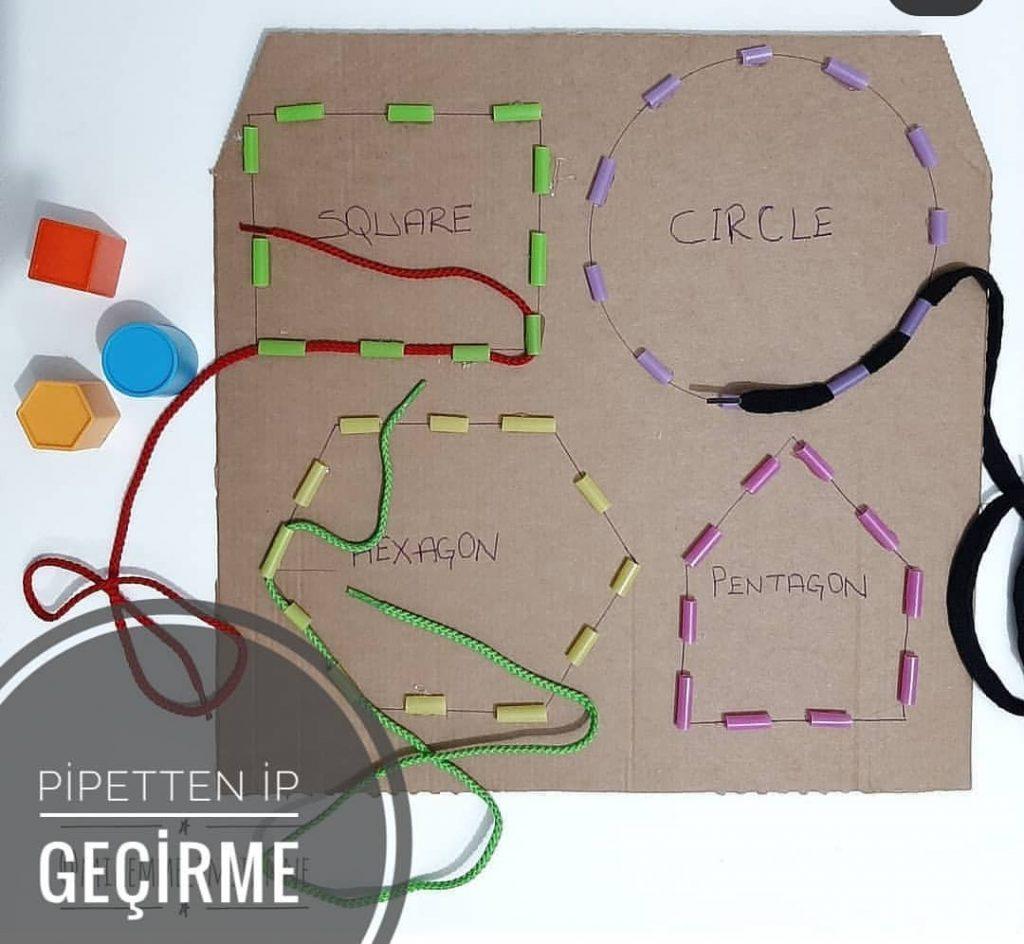 Montessori Etkinlikleri -Rengarenk Miyav ile Renkleri Öğreniyorum