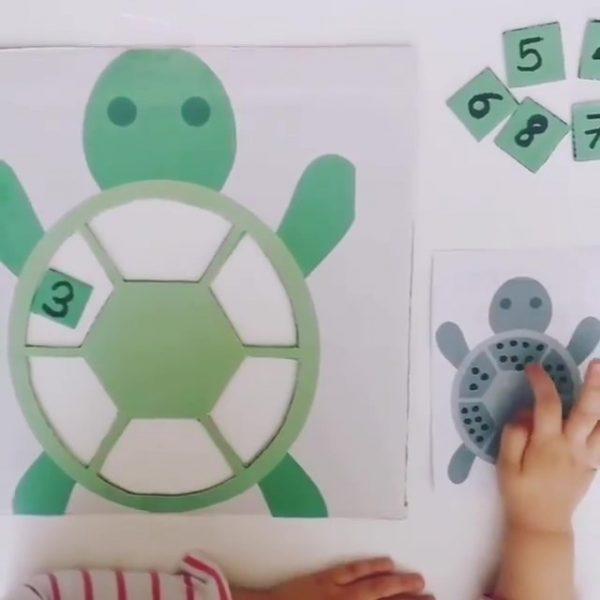 Montessori Etkinlikleri Sayıları Öğreniyorum 1