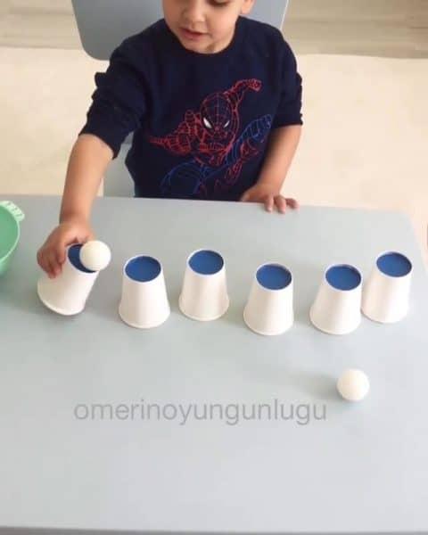 Montessori Etkinlikleri Konsantrasyonumu Artırıyorum