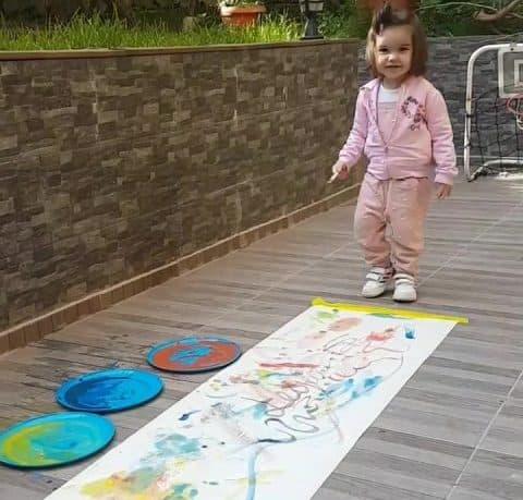 Montessori Etkinlikleri Resim Yapıyorum E1592085153303