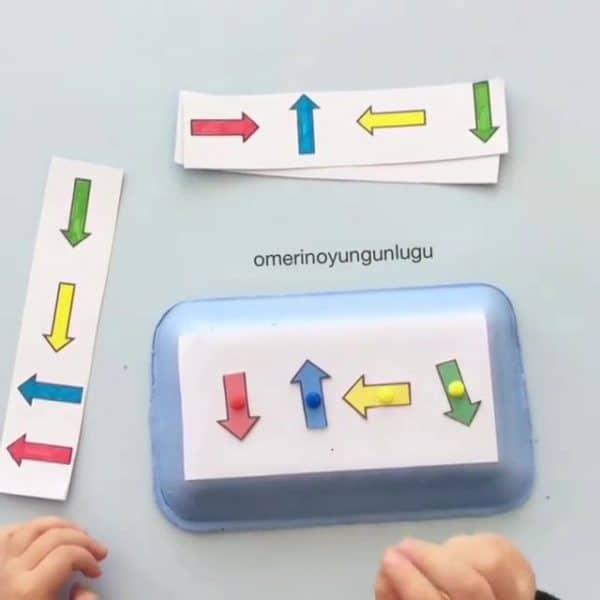 Montessori Etkinlikleri – Sağımı Ve Solumu Öğreniyorum